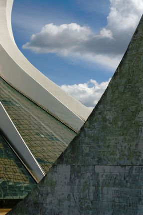 Cathédrale de Brasilia, cathedral in Brasilia